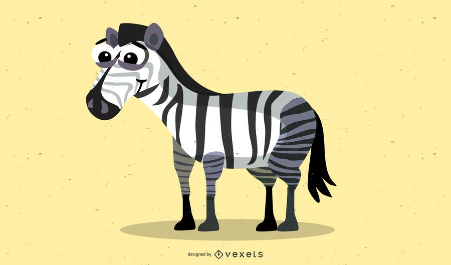 Zebra-Vektor-Material