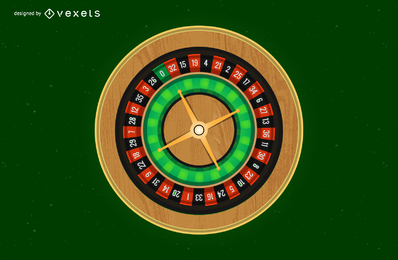 Vector de ruleta