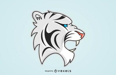 Tiger Bild 24 Vektor