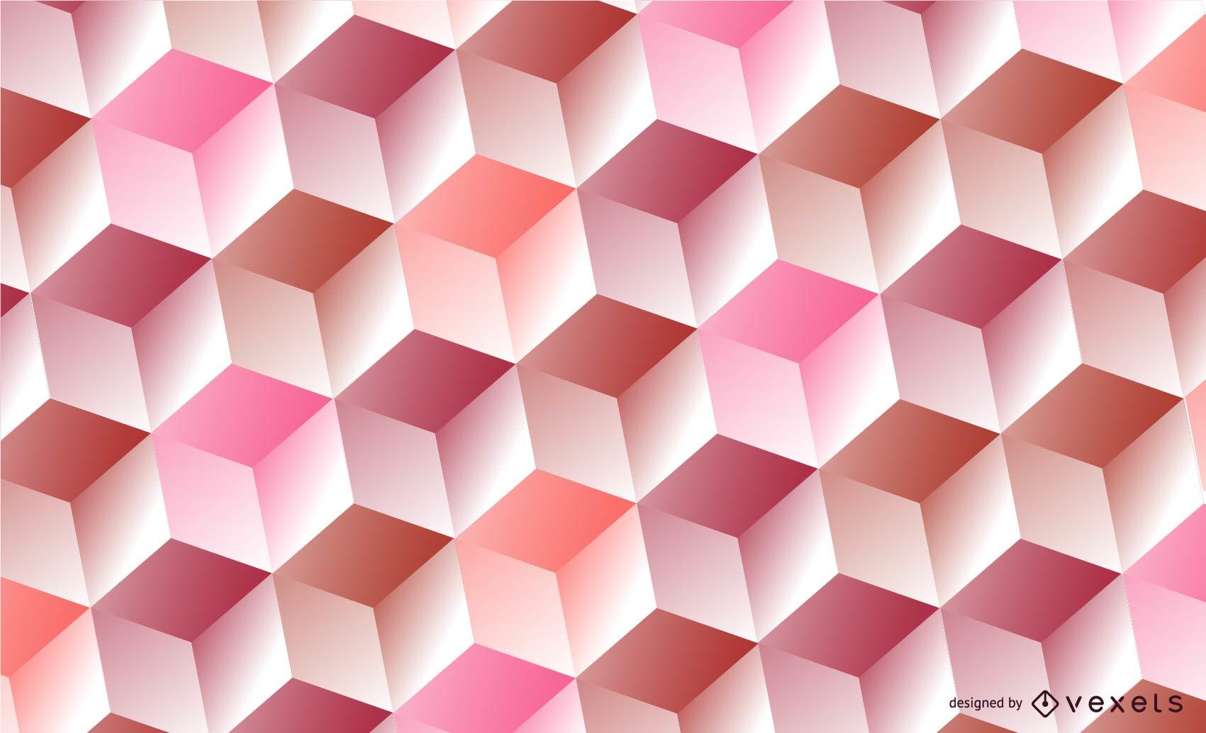 Pomegranate Cube Vector