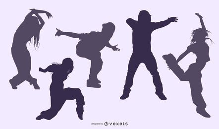 Dubstep Dancer Silhouette Pack