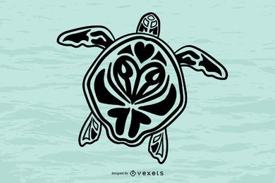 Turtle Totem Vector 1