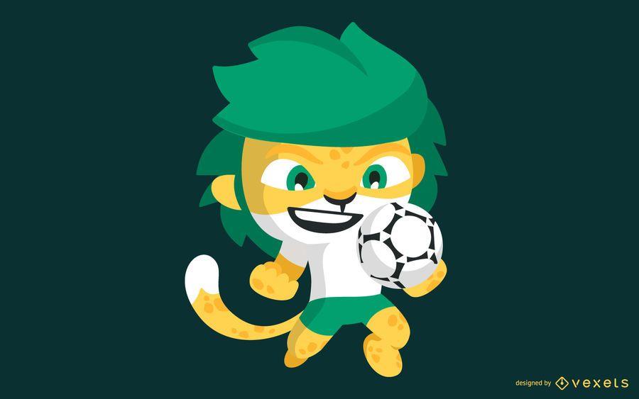 Becoming Phill Maskottchen Der Fussball Wm 2010 In Sudafrika