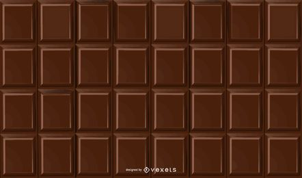 Fragrant Chocolate Bar Background