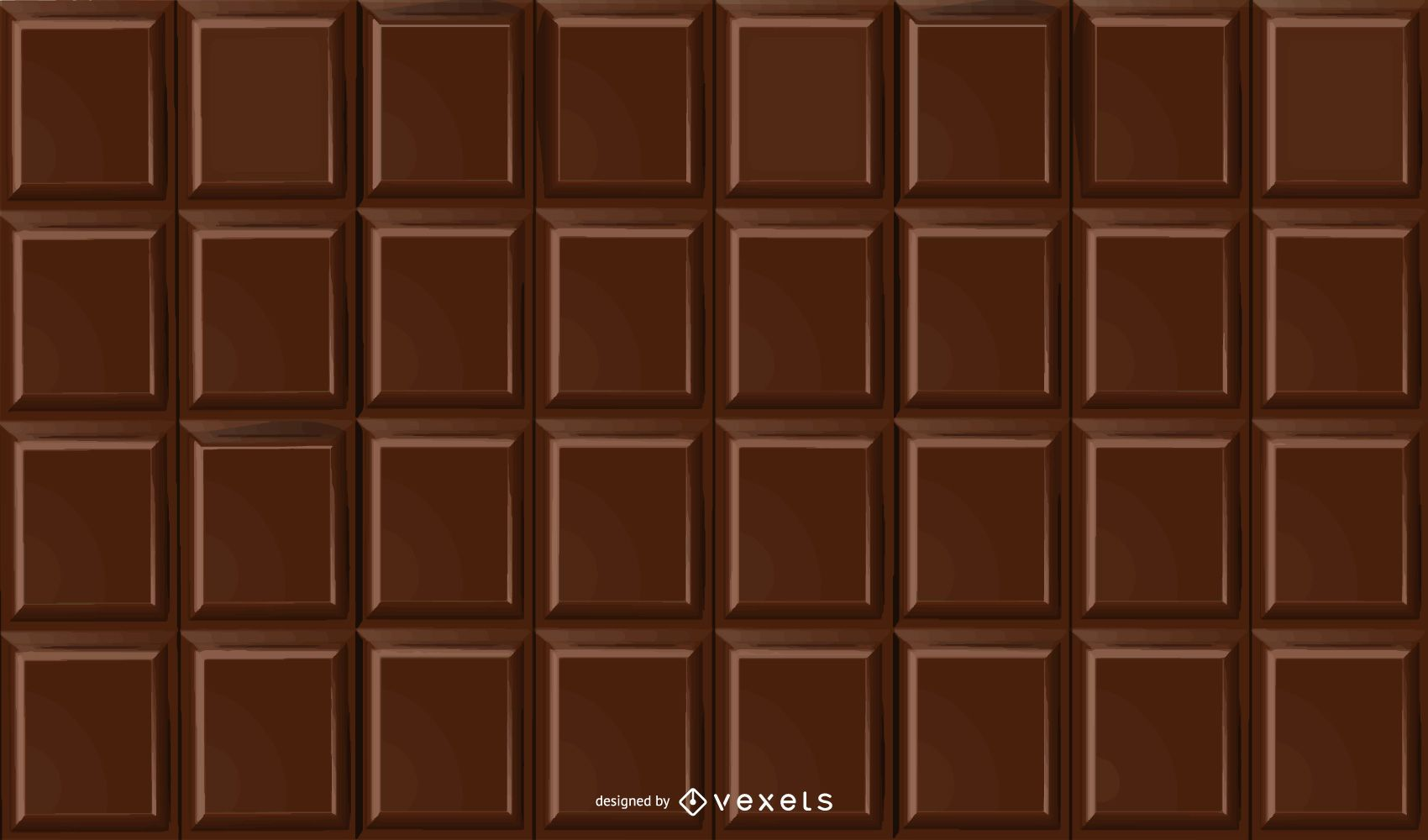 Fondo de barra de chocolate fragante