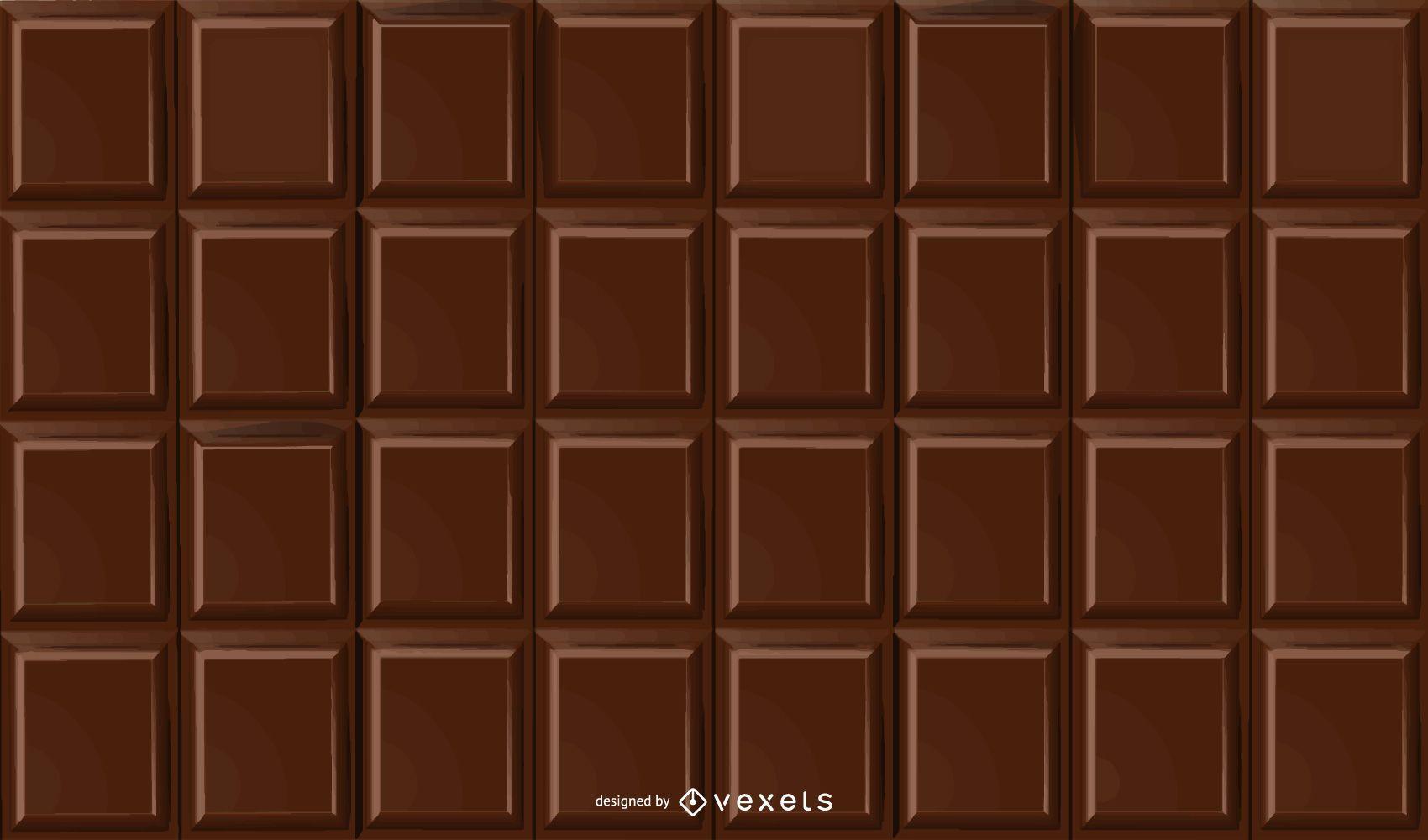 Fragrant Chocolate Bar Background