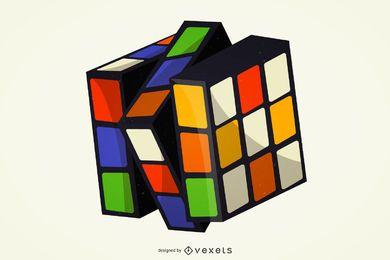 Cubo de Rubik 3D