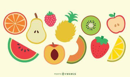 Vectores de frutas