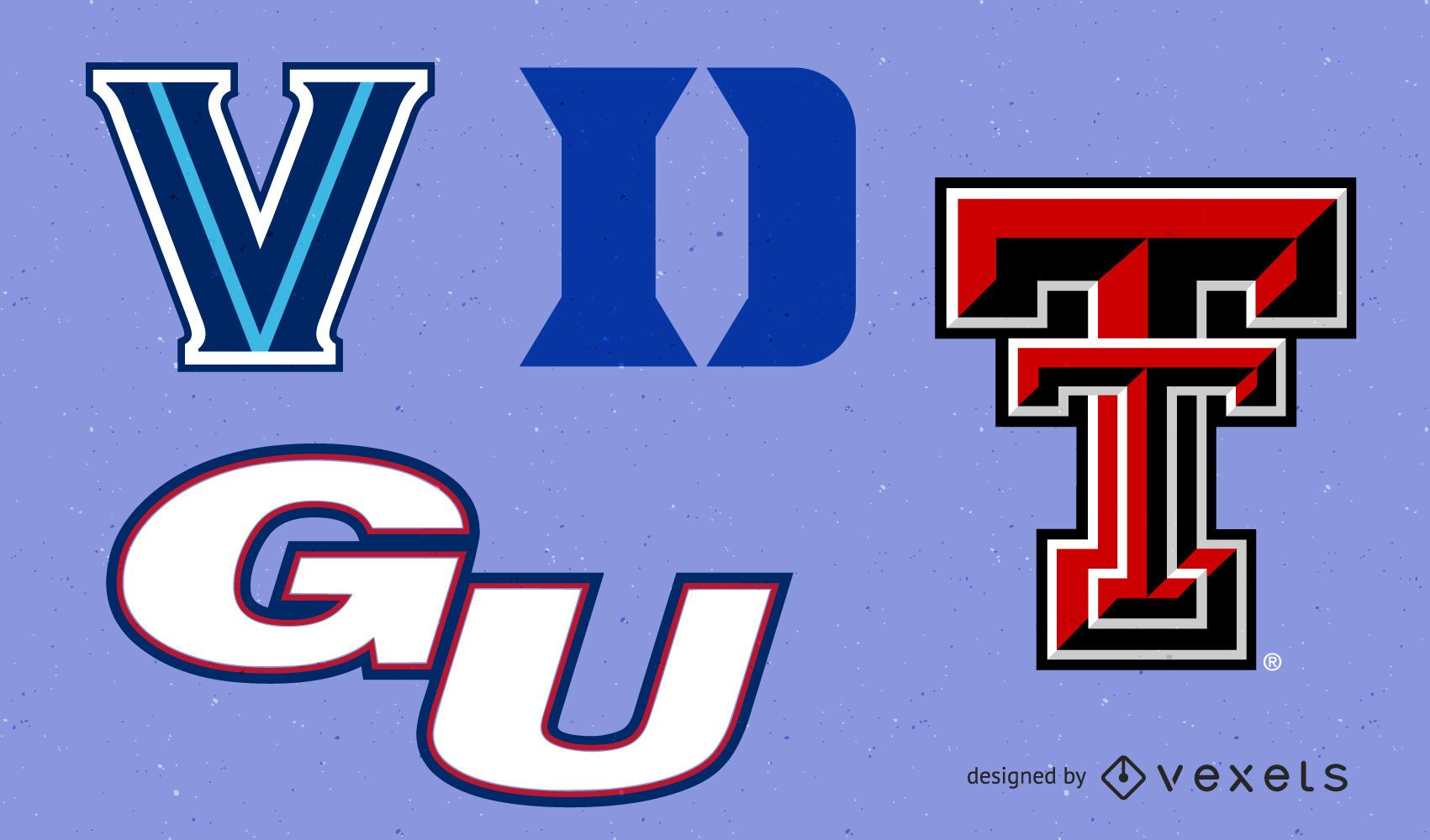 NCAA Basketball Logo Set