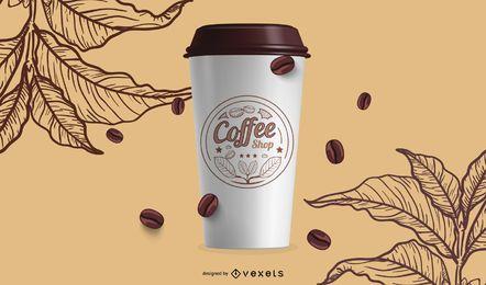 Copos de café Starbucks