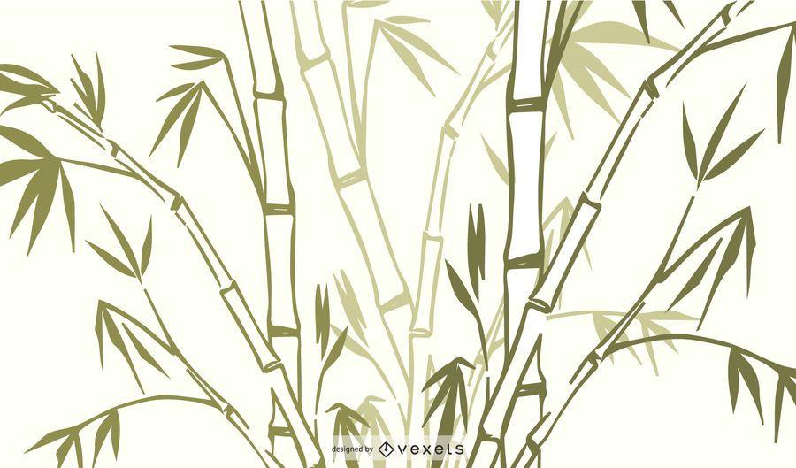 Bamboo Grass Plant Vector