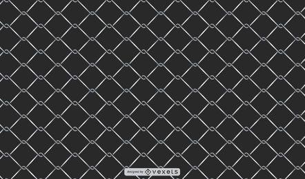 Metal Mesh Fence Background