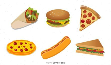 Westernstyle-Fast-Food-ClipArt