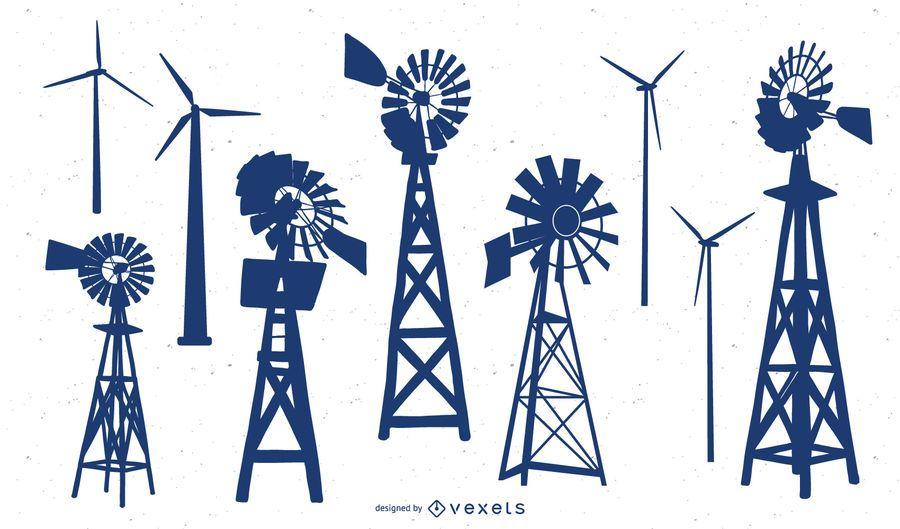 Ilustración de energía verde brillante