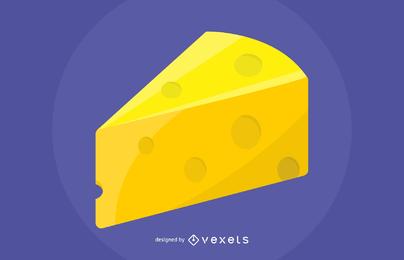 Vector de queso