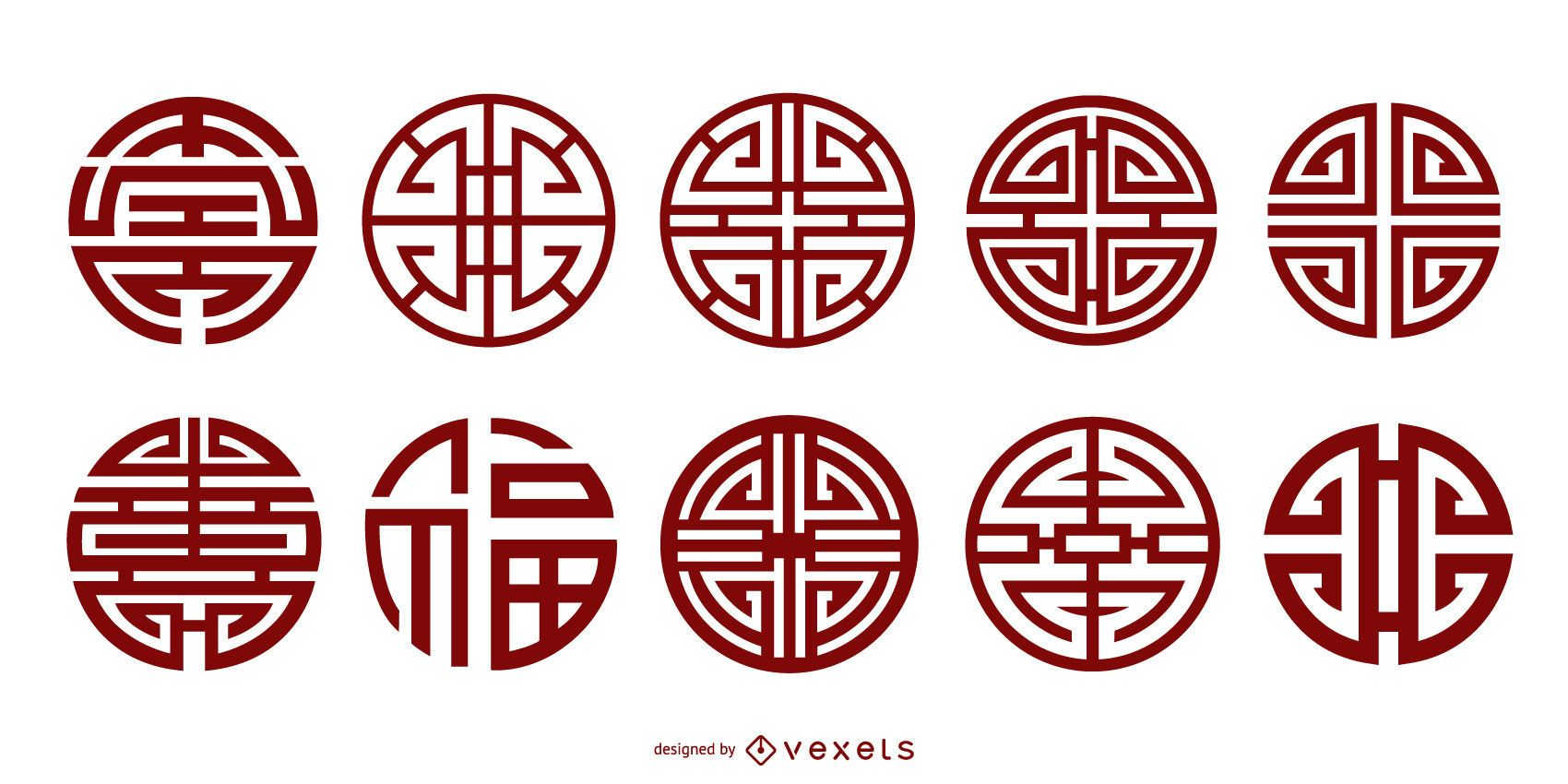Chinese Classical Tradition Of Eleven Vector