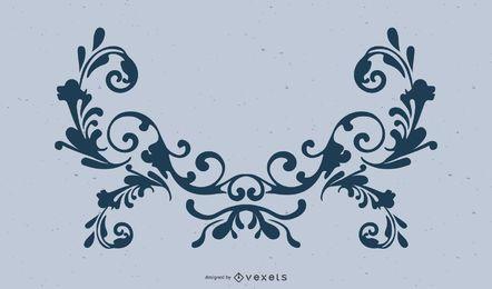 Dekorativer Verzierungs-Vektor Adobe-Illustrator Ornamanet-Verzierung Ai-Vektor