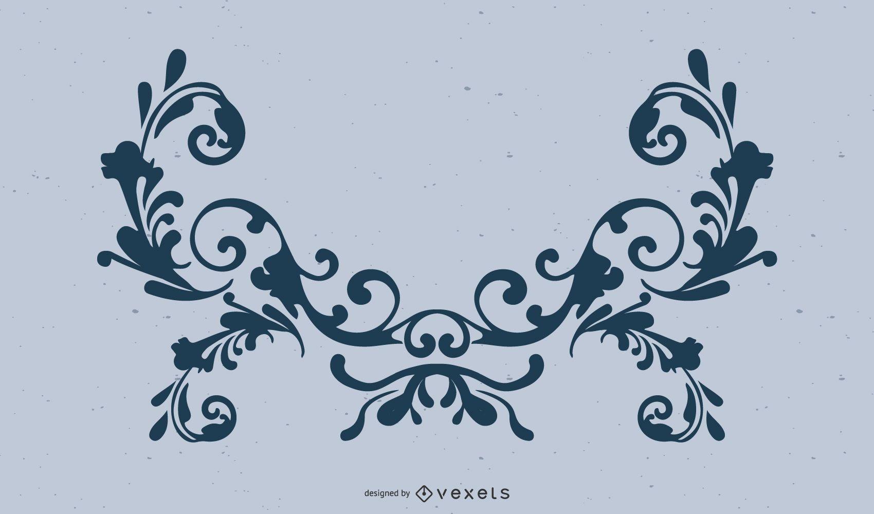 Vector Adorno Decorativo Adobe Illustrator Ornamanet Adorno Ai Vector