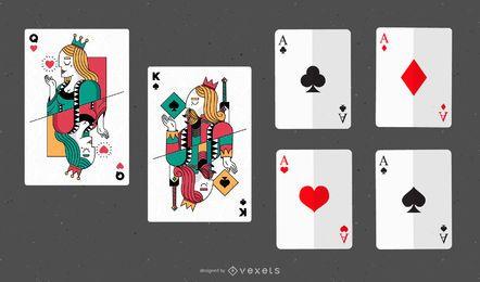 Vetor de poker 03