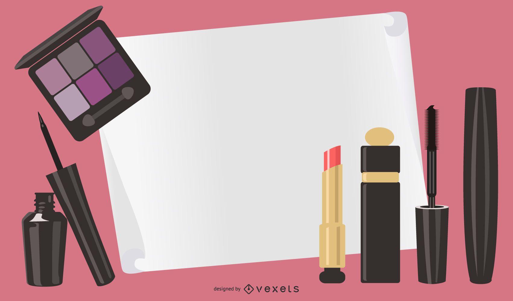Daily Cosmetics 05 Vector
