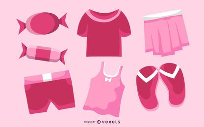 Cute Trend Vector Goods Of Life