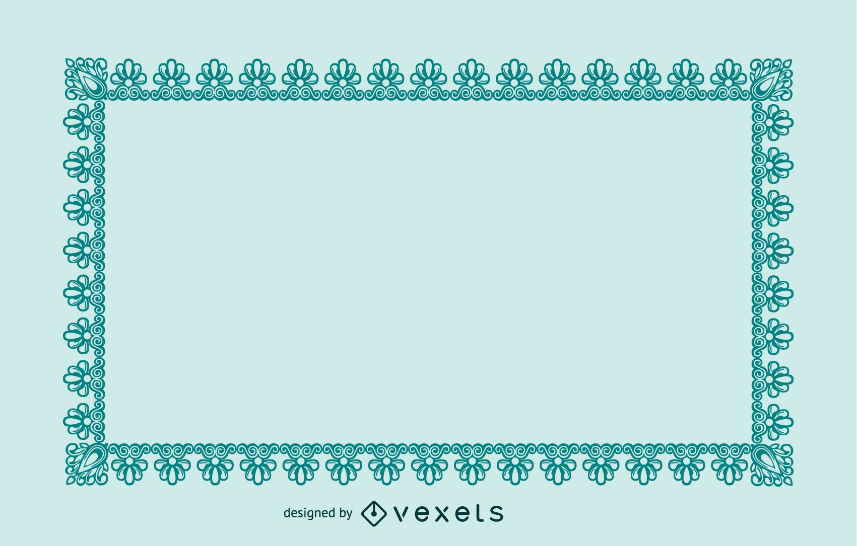 Simple And Practical Border Vector Series 2 50p