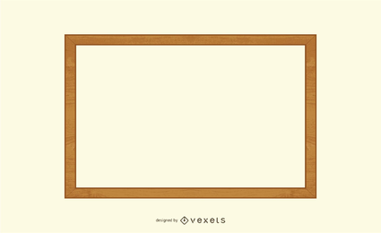 Wooden Frame Vector 2