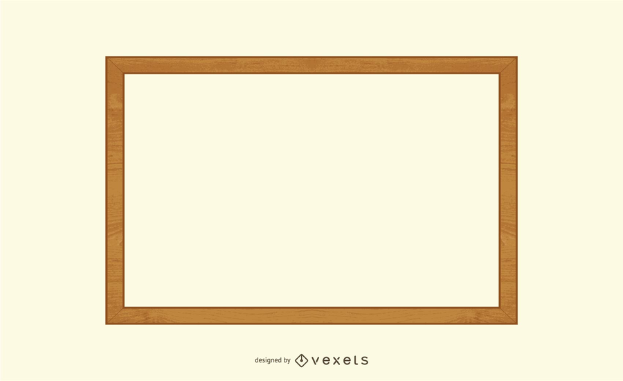 Wooden Frame Vector 2 - Vector download