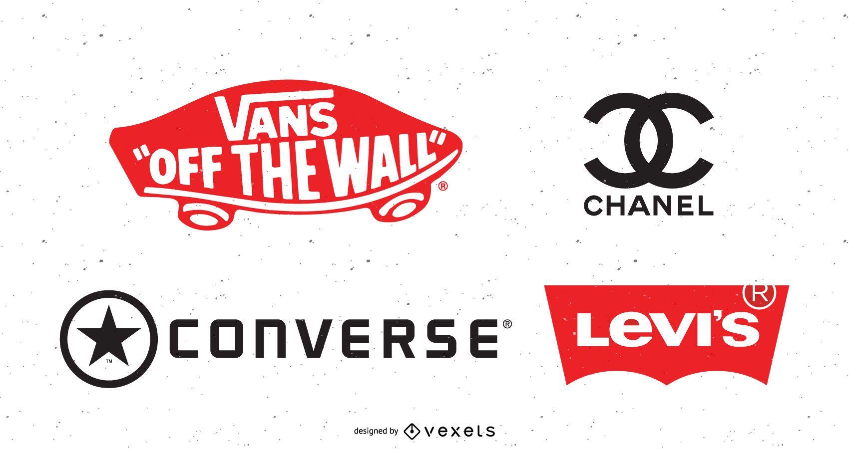 Tendência do logotipo do vetor