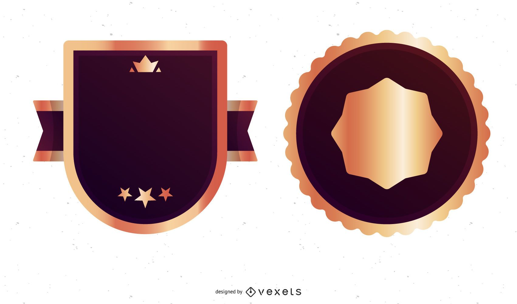 Free Vector Best Choice Label