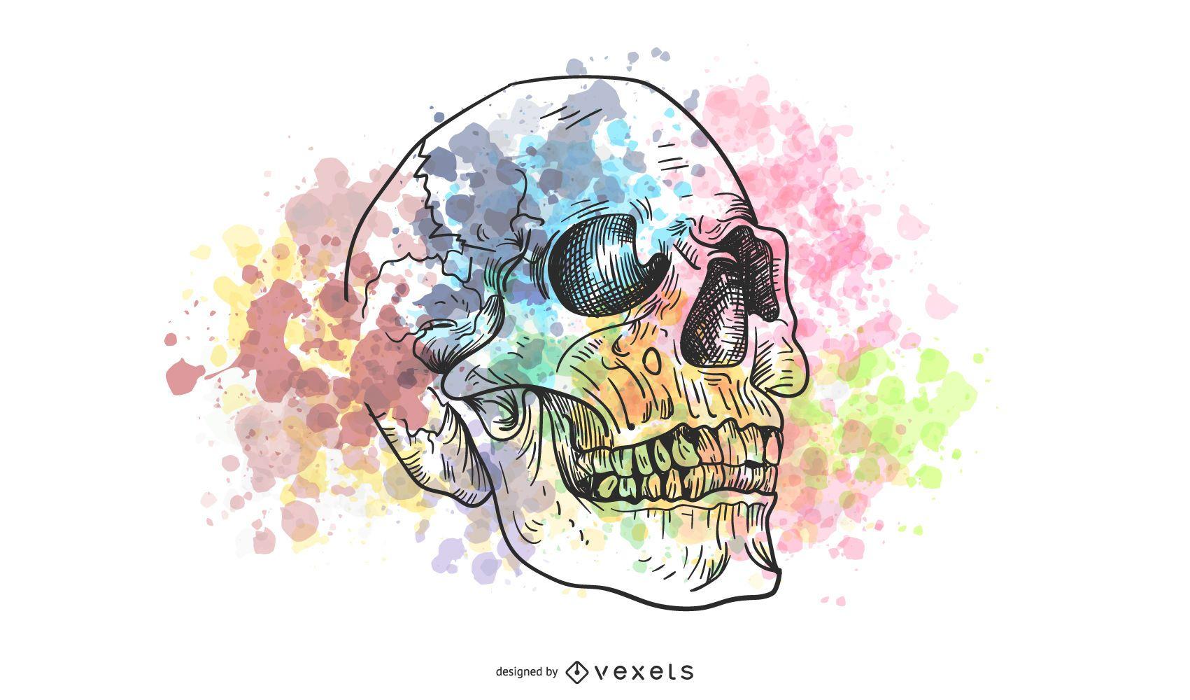 Trend Of Skull Vector Series 2 54