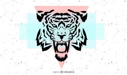 Tiger Image 31 Vektor