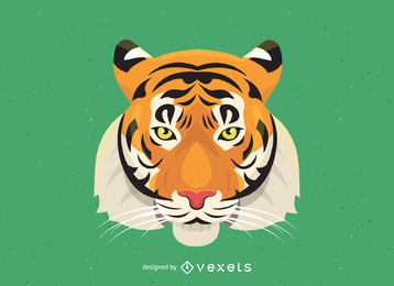 Tiger Image 17 Vector