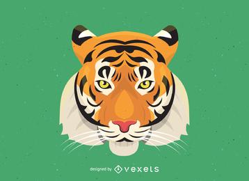 Vetor de imagem 17 de tigre