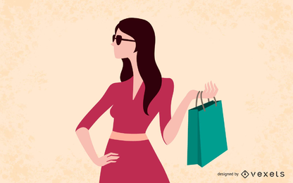 Female Fashion Vector Design