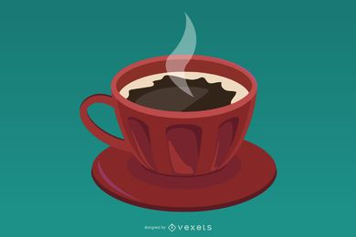 Vector Cup Of Coffee