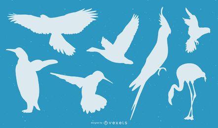 Pássaros de vetor livre
