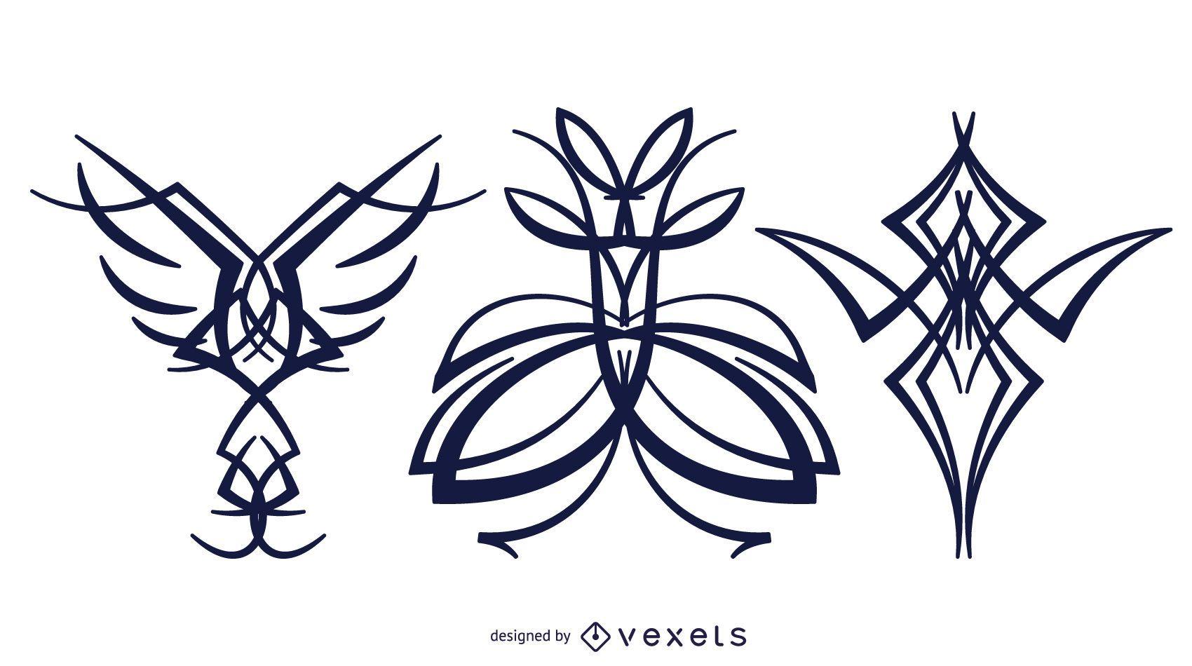 Tribal Tattoo Design Pack