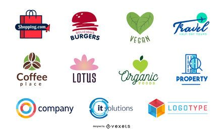 Elementos de logotipo gratis