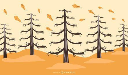 Vector Art Trees 2