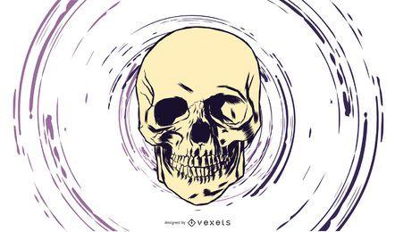 Vector de cráneo 8