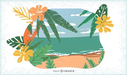 8 Tropic Islands Vectors