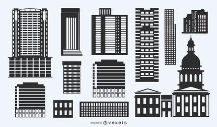 Paquete de formas de construcción