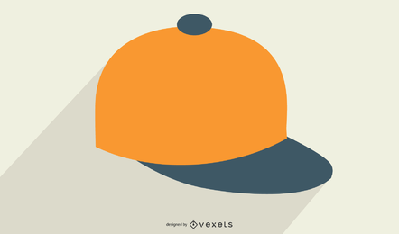 Boné de beisebol do vetor