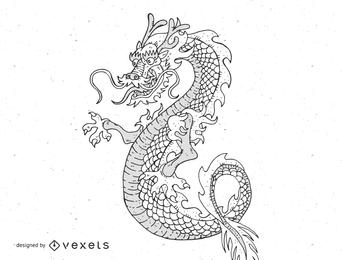 Dragón japonés 3