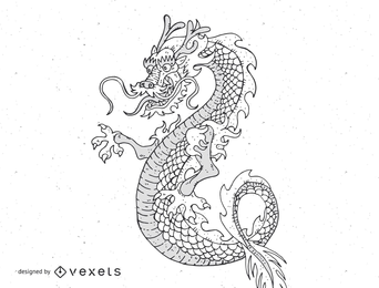 Japanese Dragon 3