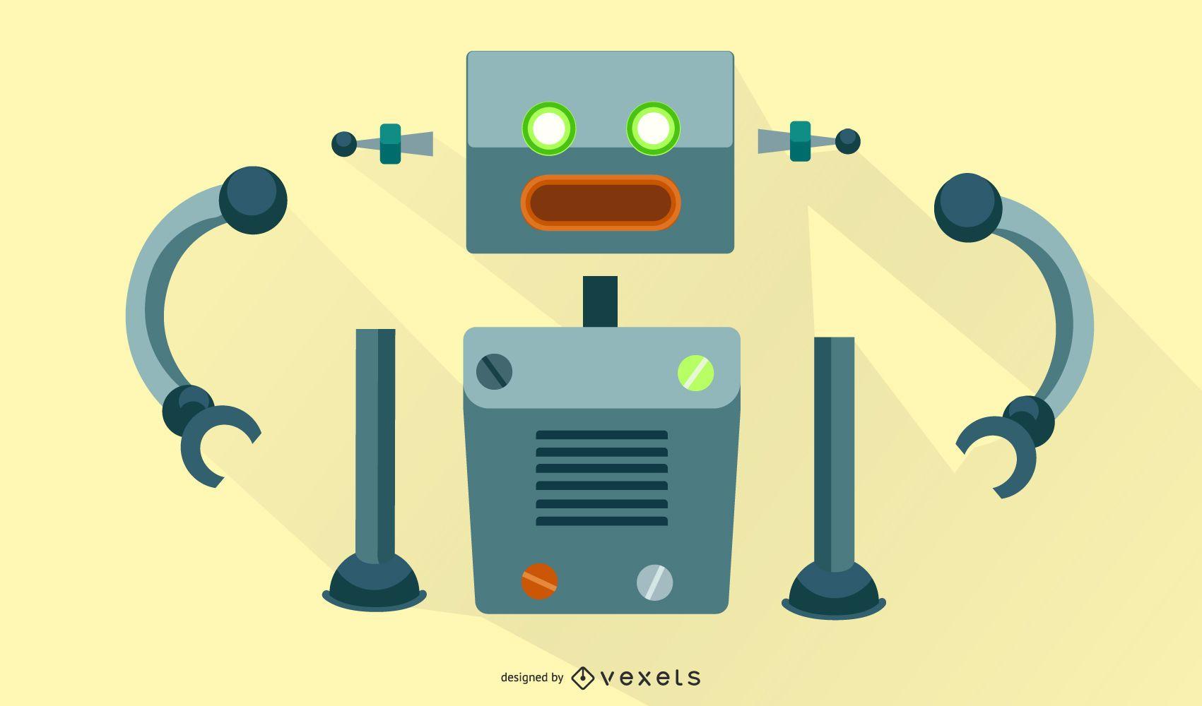Robot Vector Assembly Kit