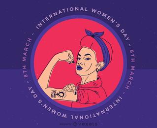 Clip art del Día Internacional de la Mujer