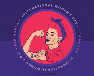Clip art internacional del día de las mujeres