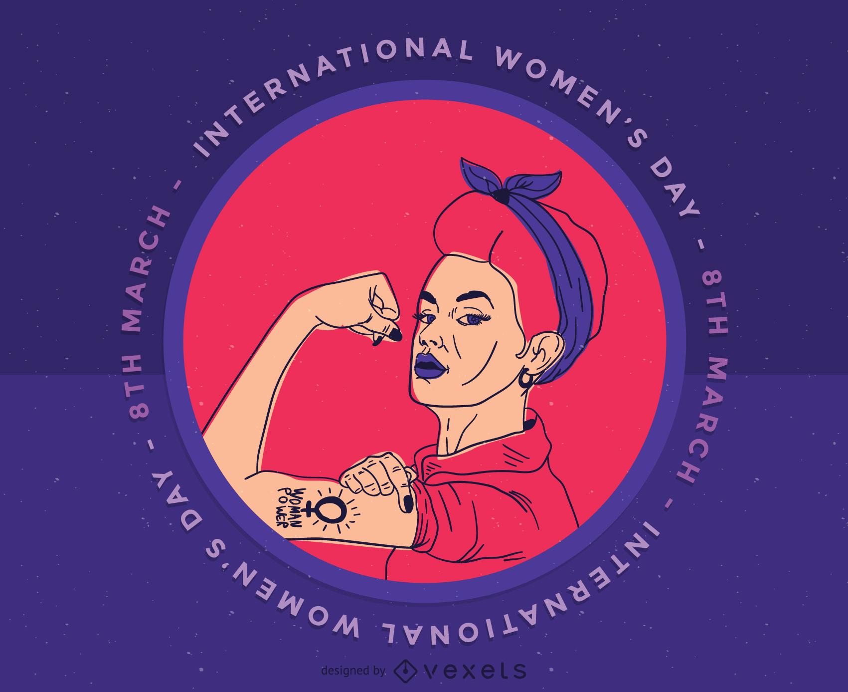 Clip-Art do Dia Internacional da Mulher